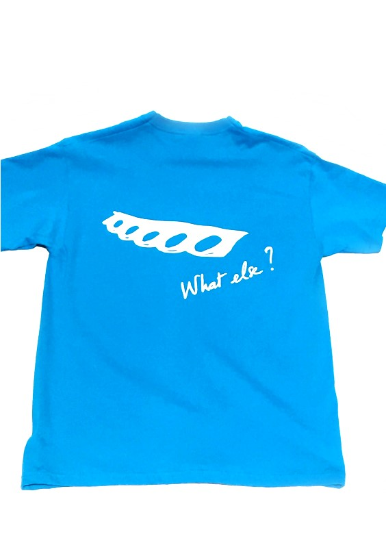 T-shirt What Else (L) BLUE