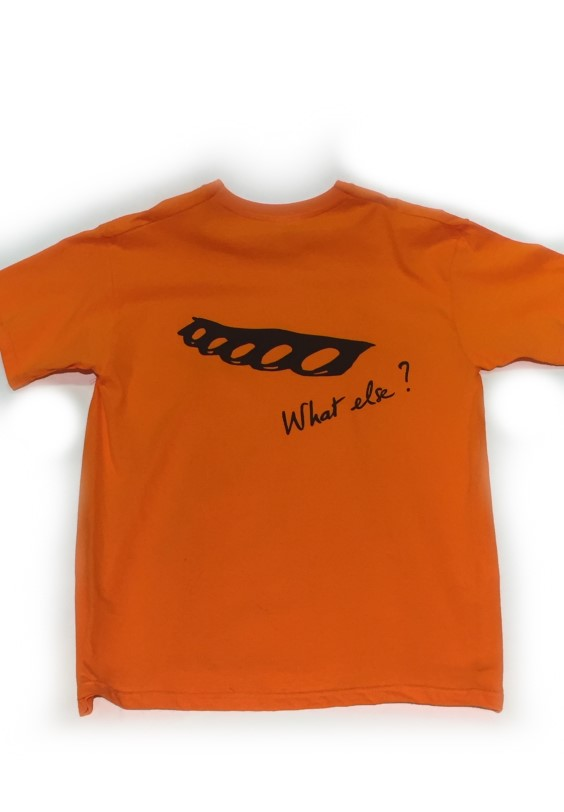 T-shirt What Else (M) ORANGE
